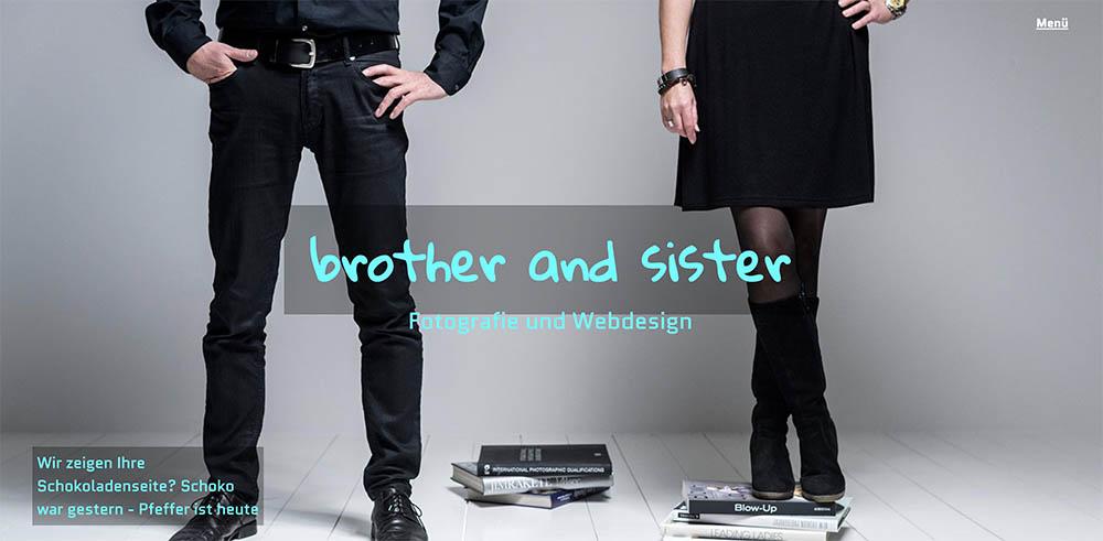 Website Fotografie und Webdesign