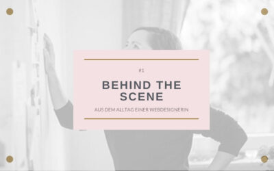 BEHIND THE SCENES # 1