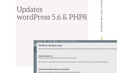Updates für die Sicherheit Ihrer WordPress Website