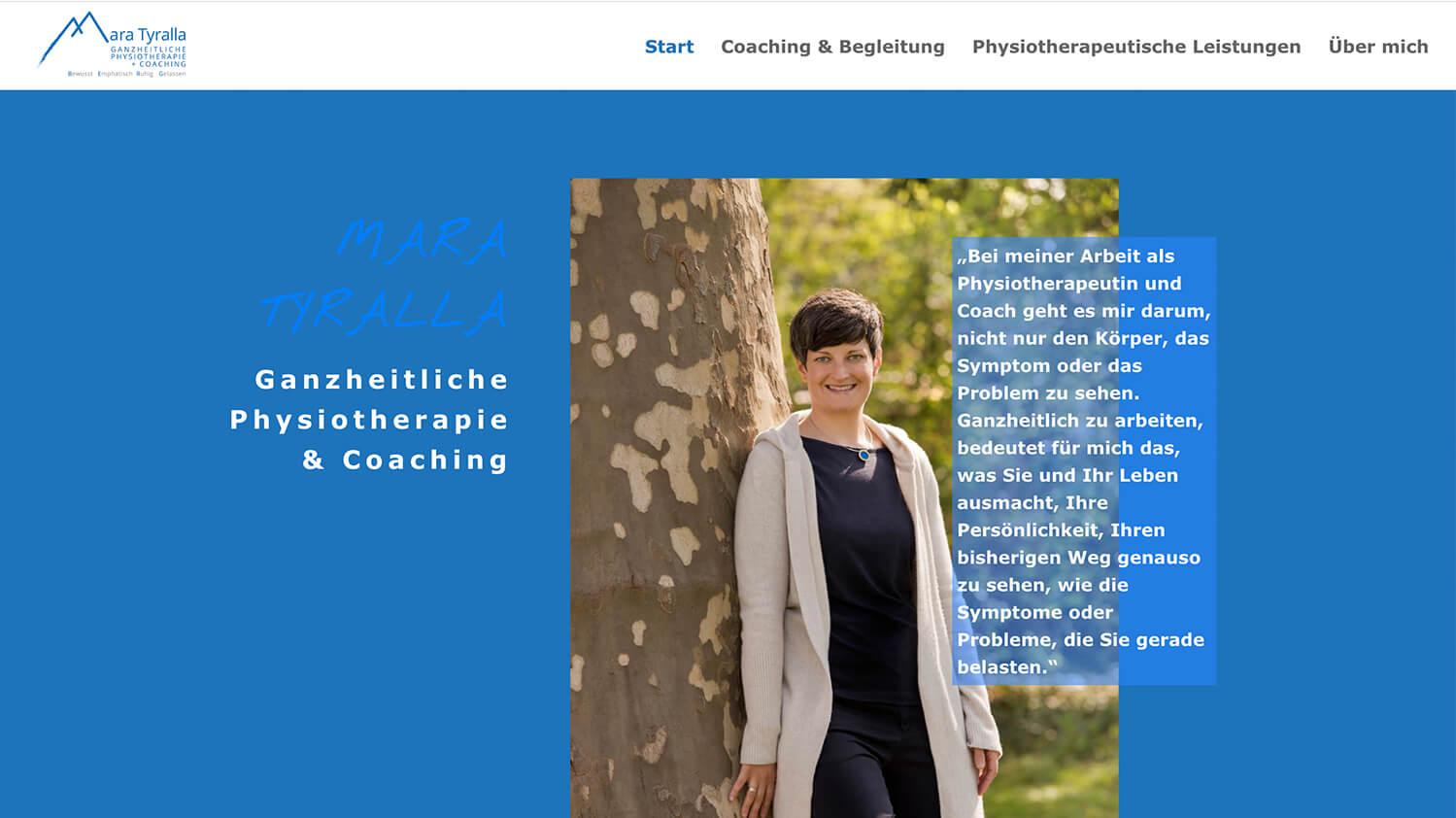 Mara Tyralla - Physiotherapie und Coaching