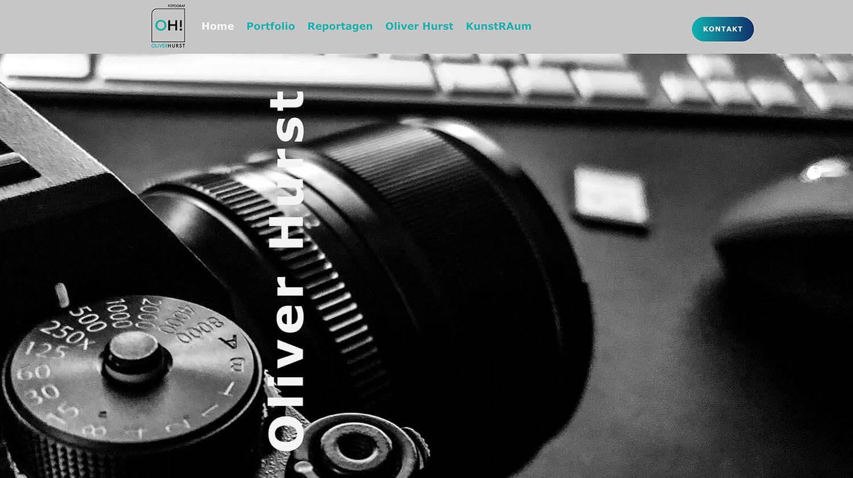 Portfolio Carmen Hurst - Website Oliver Hurst Fotograf